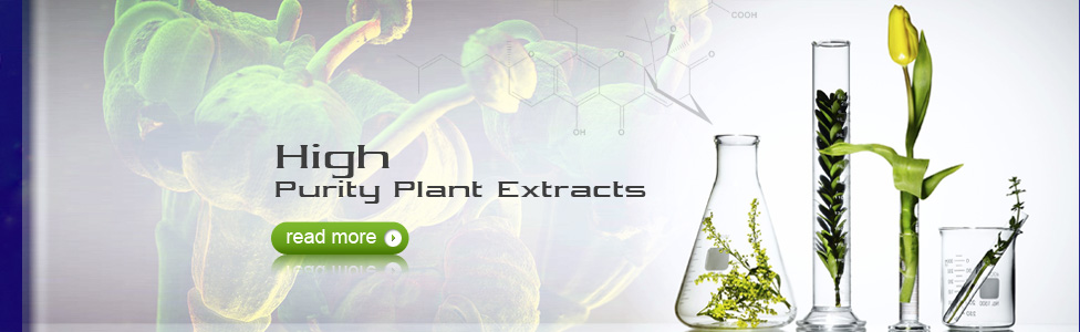 High Purity Plant Extracts